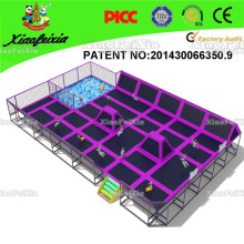Trampoline Park--Design, Manufacture, Field Assembly. Top Quality, Top Service
