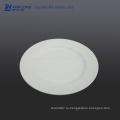 8 дюймов Чистая белая обеденная тарелка