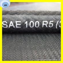 Hochdruck-Auto-Ölschlauch Texile bedeckte Schlauch SAE R5 Schlauch