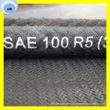 High Pressure Auto Oil Hose Texile Covered Hose SAE R5 Hose