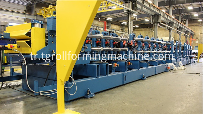Steel Profile Omega Purlin Roll Forming Machine