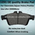 D1095 Brake Pad for Jaguar Vanden Plas 2005 R Auto Parts