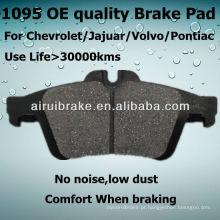 D1095 Almofada de freio para Chevrolet Cobalt 2010 R Auto Peças