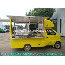 ChangAn caminhão móvel de alimentos, carrinho de jantar móvel, caminhão móvel loja de gelados à venda