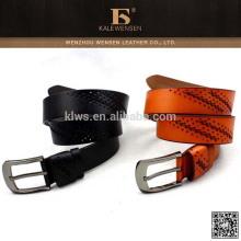 Cinturón de cuero único de la manera del diseño de la manera 2015 genuino