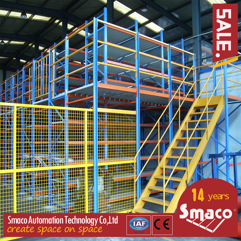 mezzanine floor racking1