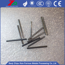 Sintered ground polished solid tungsten needles