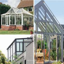 Sala de sol de alumínio com cor branca Skylight Slant Roof Design (FT-S)