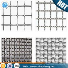 Расширен металлической Сварной сетки 4х4 430 из нержавеющей стали гофрированные проволочной сетки