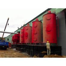 Высокая производительность древесины карбонизации уголь активированный делая плитой углерода