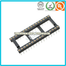 Fabrik benutzerdefinierte 2,54 mm 32pin Double Row-Pin Header IC-Sockel