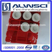 Fabricação 24-400 Branco aberto topo Parafuso PP tampa para Amber EPA VOA garrafa