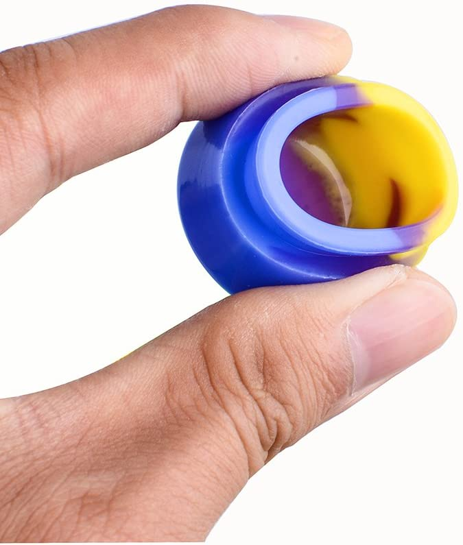 Silicone Wax Jar