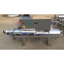 uv sterilizer for waste water industry