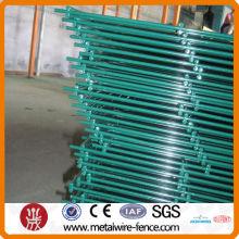 PVC pintado cerca de malha de arame duplo (fábrica)