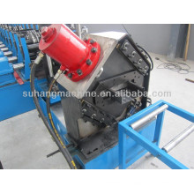 Steel pedal board cold roll forming machine