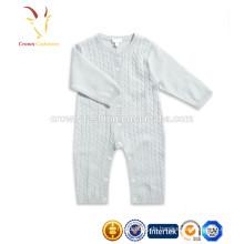 Weiches Kaschmir Unisex Baby Kleidung Layette