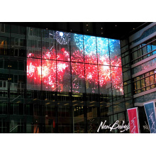 Light Aluminium Outdoor Mesh Curtain LED Display