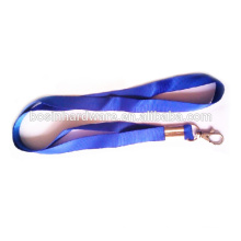 Moda de alta qualidade de metal 15 milímetros poliéster Cheap Custom Lanyard