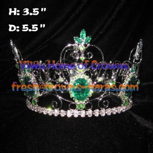 3.5inch Wholesale Pageant Round Crowns