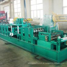 CZ-Kanalstahlrolle, die Aluminiumplattenherstellungsmaschine bildet