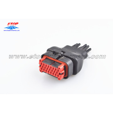 Gegoten tyco ECU-connectorkabel