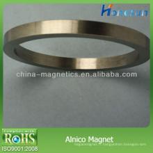 Aimants en alnico 5 anneau forme avec forte puissance