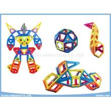 128PCS Magnetic Toys Puzzle Wisdom Mag Building Blocks Toys Education Toys for Kids