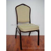 Chaise de banquet d'hôtel noir XA176