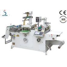 JMQ-320B automatic Roll-Roll Adhesive Tape Die Cutter with gold foil