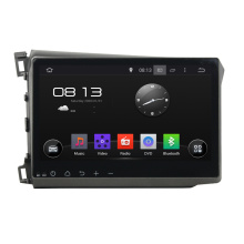 10.1 inch Deckless Android Car DVD For Honda Civic 2012