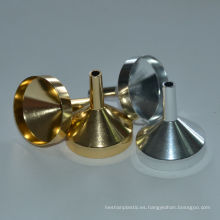 2014 Mini embudo de llenado de perfume de aluminio