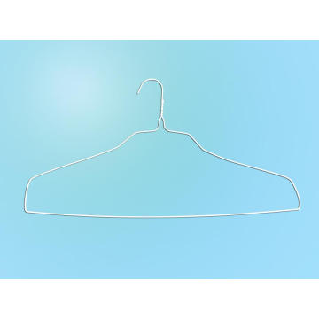 Top Selling White Powder Square Shoulder Shirt Hanger