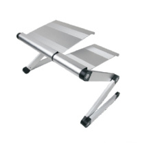 "Laptop Desk Alu Panel Foldable Height Adjustable Upto 17"" (T9)"