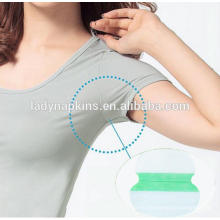 Super absorbent female herbal armpit underarm sweat pads supplier