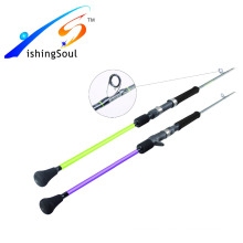 SLJ002 cheap nano carbon blank customized sea fishing rod slow pitch jigging rod