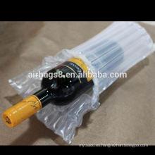 Cheap OEM vino aire amortiguador bolsas el paquete de burbuja a prueba de choques para botella de vino