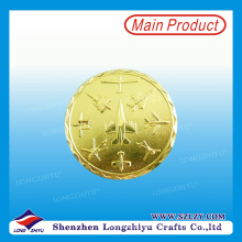 Modern Design Brass Commemorative Coin From China Supplier