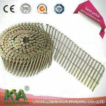 Pregos de palete Pneumáticos Concial para Embalagem, Telhado, Esgrima