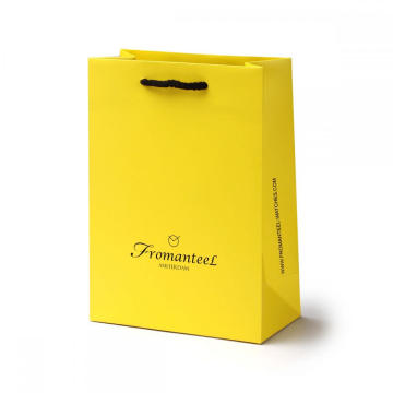 Low Cost Custom Color Shopping Paper Bag