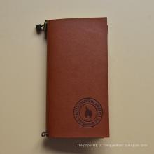 Material escolar reciclado do escritório que escreve o caderno do papel de embalagem