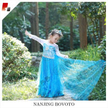 little princess girl blue fairy dress
