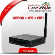 Professional Supplier Black High Performance WiFi & 4fe Triple Play Gepon Ont/ONU