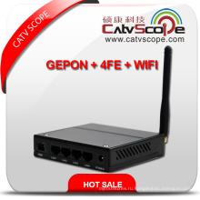 Профессиональный поставщик Black High Performance WiFi & 4fe Triple Play Gepon Ont / ONU