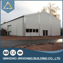 Estrutura de aço certificada SGS Hangar de telhado Edifícios de galpão