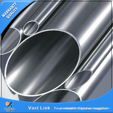 Good Surface ASTM A554 Tp201 Stainless Steel Decorative Pipe