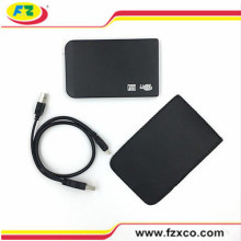 2,5 polegadas USB2.0 para SATA Portable External Hard Disk Case
