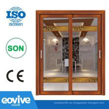 Balcón de aluminio perfil francés puertas
