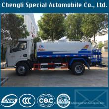 Hecho en China 4 X 2 LHD 5000liters carro del agua