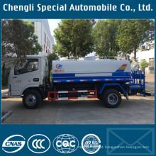 Feito em China 4x2 LHD 5000liters caminhão de água